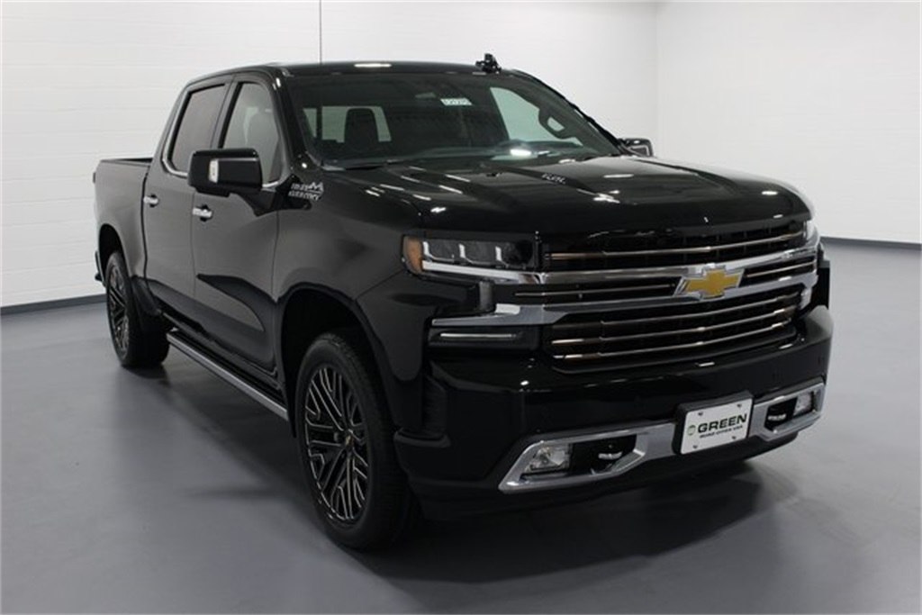 New 2019 Chevrolet Silverado 1500 High Country 4D Crew Cab ...
