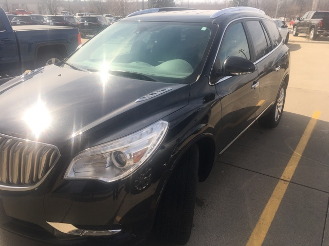 pre owned 2014 buick enclave premium group 4d sport utility in quad cities d20357a green. Black Bedroom Furniture Sets. Home Design Ideas